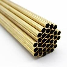 5 шт латунные трубки 2 мм 3 4 6 8 500 длиной 05