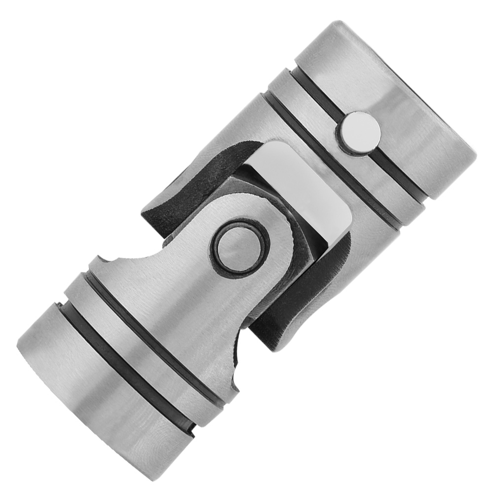12mm Dia Shaft Coupling Motor Connector Steel Universal Joint 12×23×52mm Coupling Coupler Motor Transmission Connector image