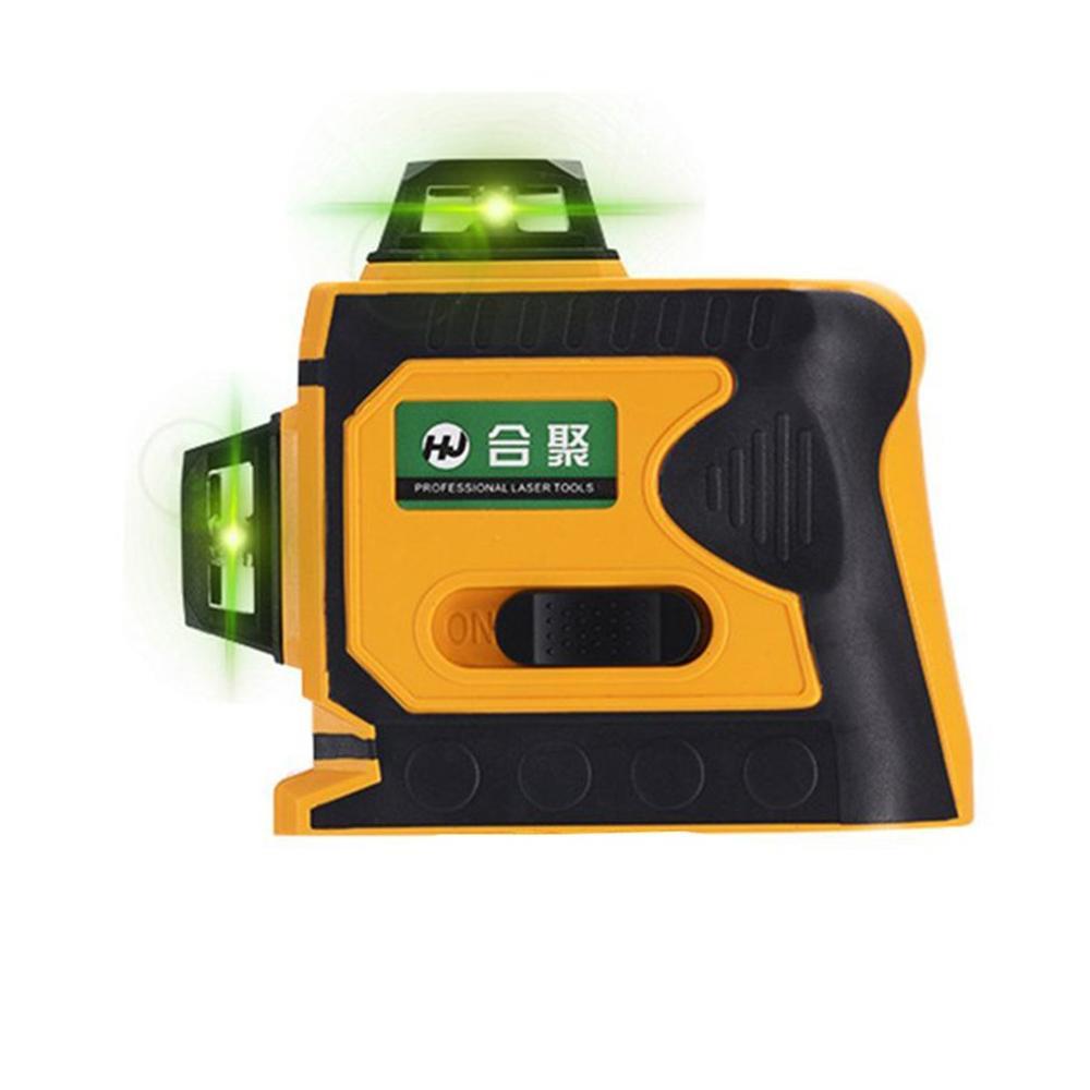 12 lignes 3D télémètre de niveau Laser auto-nivelant 360 croix horizontale et verticale Super puissante ligne de faisceau Laser vert - 2