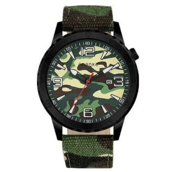 Outdoor Sports Men's Watch Camouflage Military Strap Calendar Watch Waterproof Male Quartz Watches Relogio Masculino Mens Watch 1