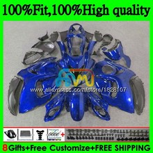 Инъекции для SUZUKI Hayabusa GSXR1300 08 09 все синий по доступной цене, 10, 11, 12, 56BS. 58 GSX-R1300 GSXR 1300 2008 2009 2010 2011 2012 обтекатель