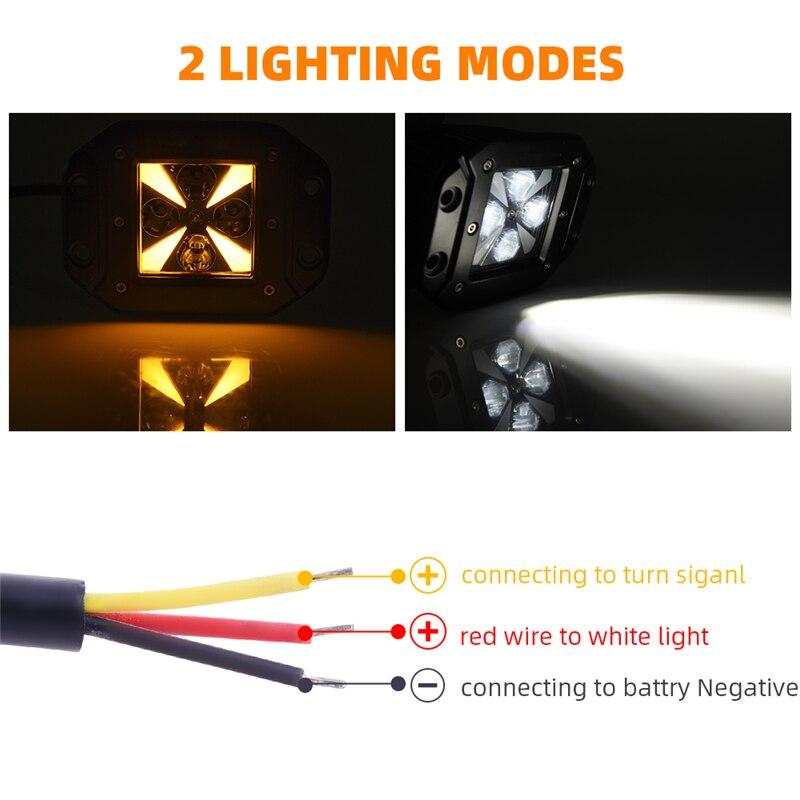 mictuning 2 pces led vagens de luz 01