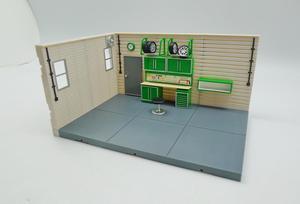 Image 1 - Juego de Diorama de garaje serie 1:43