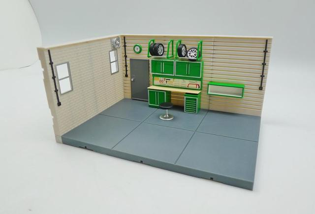 Juego de Diorama de garaje serie 1:43
