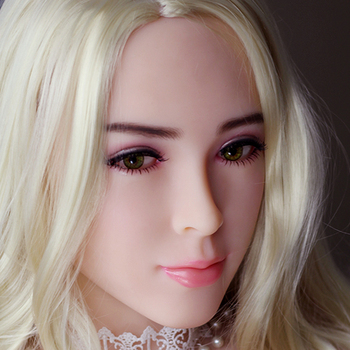 Sex Doll Head,Real Oral Sex Head Full Silicone Sex Doll Heads for Realistic Adult Love doll Mannequins Sexy Toys
