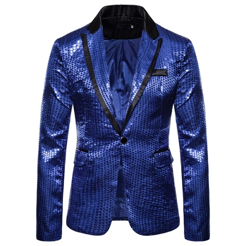 Laamei Male Master Sequins Dresses Stage Costumes Men Suit   Clothing  Suits & Blazer Show Jacket Outerwear Lahore