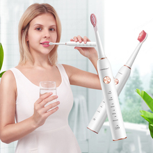 Electric Toothbrush IPX7 Waterproof Electric Sonic Toothbrush with 4 Brush Heads USB Fast Charge Smart Timer 5 Modes Toothbrush