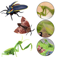 Infrared Animal Electric Toy Insect Toys Simulation Mantis Moth Firefly Halloween Prank Insects Kids Toys