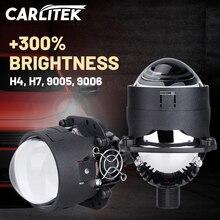 2.5 Inch Bi-LED Headlight Projector Lenses 2 Pack For H4 H7 HB3 HB4 9005 9006 25000LM 6000K LED Super Bright Lenses Universal