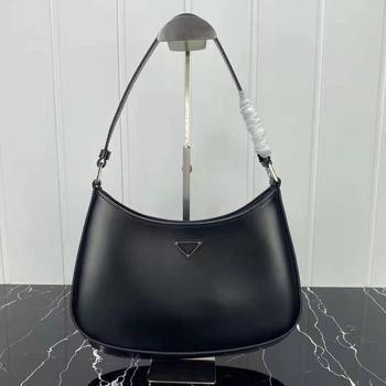 2021 autumn and winter new ladies handbags calfskin handbags luxury fashion trend goddess underarm bag, Italian brand 1