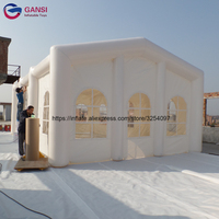 Waterproof party inflatable frame tunnel marquee tent giant inflatable canopy tent for wedding