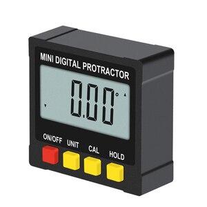 Image 3 - 360 ° منقلة رقمية صغيرة عالية الدقة مقياس الزوايا الإلكترونية الميل المستوى الرقمي زاوية مكتشف صندوق قياس الزاوية
