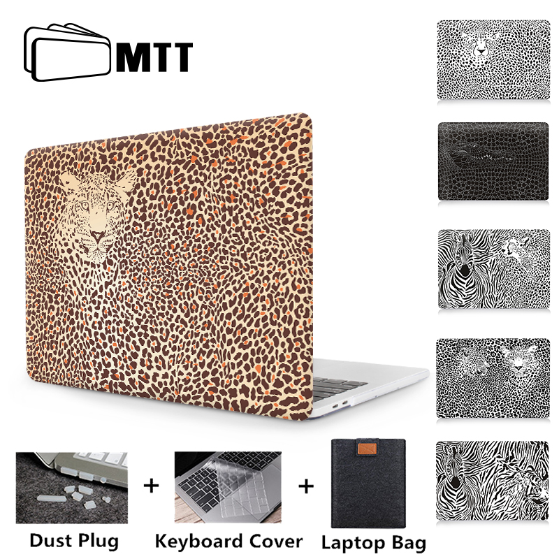 MTT Leopard Case For Macbook Pro Retina 13 15 i16 nch With Touch Bar Cover for mac book air pro 11 12 <font><b>13.3</b></font> 15.4 <font><b>Laptop</b></font> <font><b>Bag</b></font> Case image