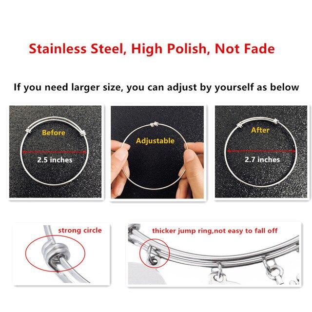 Купить браслет из нержавеющей стали 64 мм
