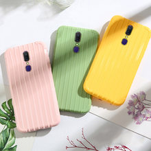 Fashion Candy Color TPU Case for OPPO A9 A9X A91 A92S A7 A7X A5 A5S A3S Case F11 Pro F9 F5 F1S Cover Cute Silicone Phone Cases(China)