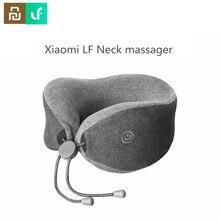Youpin Leravan LF masażer szyi w kształcie litery U poduszka szyi masażer do relaksującego masażu mięśni poduszka do spania dla biura, samochodu, domu i podróży.