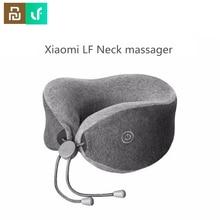 Youpin Leravan LF masajeador de cuello almohada en forma de U cuello Relax terapia muscular masajeador almohada de sueño para oficina, coche, hogar y viajes.
