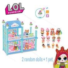 Куклы lol surprise игрушки «сделай сам» игры для дома с 2 случайными