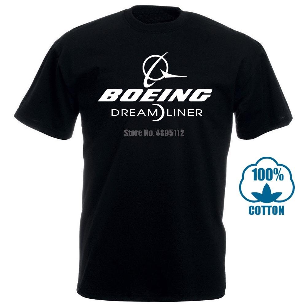 Boeing T Shirt Boeing 787 Boeing 787 Dreamliner Dreamliner Short Sleeve Fashion Summer Printing Casual