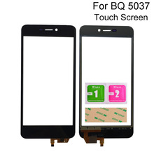 Mobile Touch Screen Sensor Panel For BQ BQ-5037 BQ 5037 BQS 5037 BQS-5037 Strike Touchscreen Front Glass Digitizer Tools touch screen for bq bq 4072 bq 4072 strike mini bqs 4072 bqs4072 sensor touchscreen digitizer panel front glass protector film