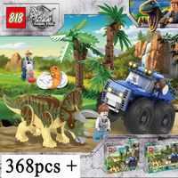 Neue Jurassic Welt Film Dinosaurier Tyrannosaurus T. rex vs Dino-Mech Schlacht Transport Bausteine 75938 Spielzeug Kinder Geschenke