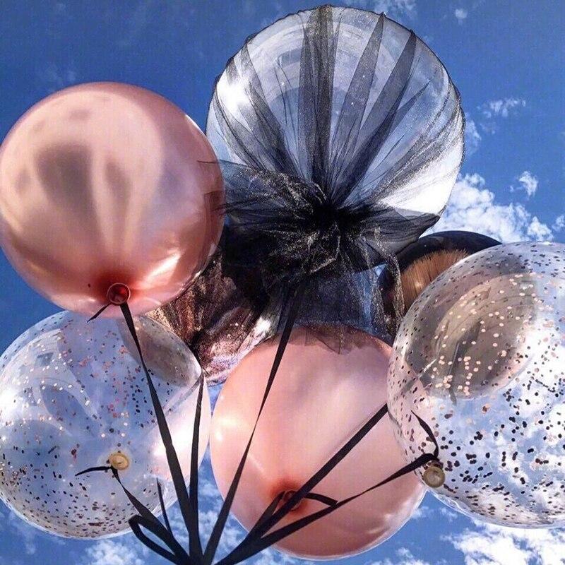 50Pcs Bobo Balloon DIY Wedding Birthday Party Decoration Balloons Helium Bobo Balloons Party Favors 10182436Inch Transparent PVC Balloon