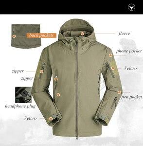 2020 Outdoor Waterproof SoftShell Jacket Hunting windbreaker ski Coat hiking rain camping fishing tactical Clothing Men&Women