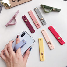 Bracelet anneau de doigt Support de poignée pour Xiaomi Huawei iPhone 11 8 Samsung tablette téléphone Mobile Support accessoires