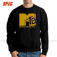 MTB Mountain Cycling Bike Sweatshirt Mannen Cool Cotton Crew Neck Fiets Downhill Bike Rider Trui Grafische Hoodie Tops(China)