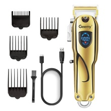 Hair-Trimmer Barber Tapering Cordless Professional Lithium-Ion for Men Adjustable