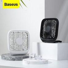 Baseus 3 Speed USB Cooling Fan Silent Small Fan For Car Backseats Air Conditioner Mini USB Fan For Office Gadgets Desktop Desk