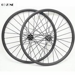 29 pouces montagne disque roues 37x24mm tubeless vtt vélo cerceau 29 novatec D791SB D792SB boost 110x15 148x12 carbone roues