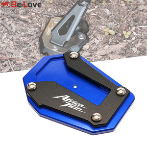 Image 1 - Motorcycle Kickstand Foot Side Stand For Honda CRF1100L CRF 1100 L Africa Twin 2020 2021Extension Pad Support Plate