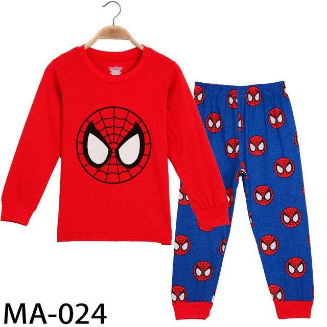 2020-Girl-boy-cotton-Pajamas-sets-cartoon-Superman-Spider-Man-toddler-sleepwear-superhero-pijamas-baby-Pyjamas.jpg_640x640 (1)