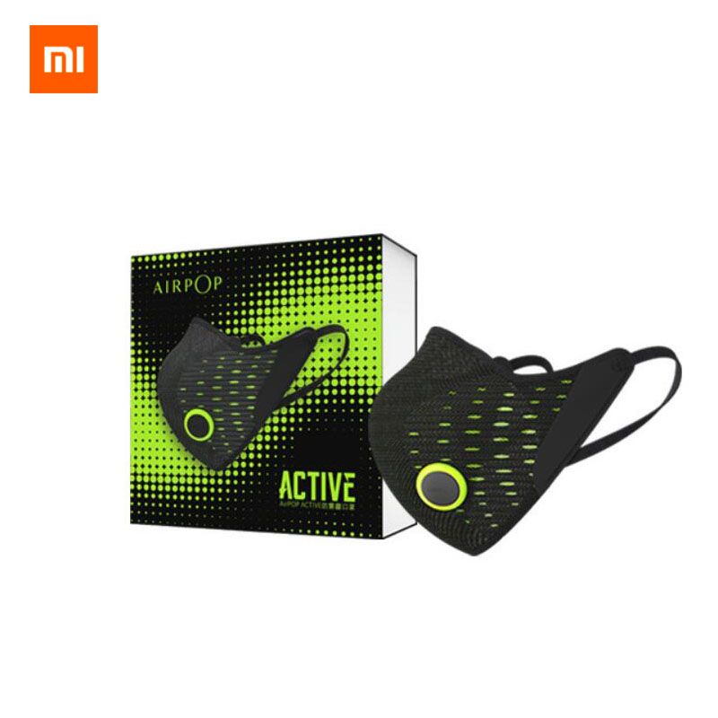 2020 Xiaomi AirPOP Mask F95 Dustproof Anti-fog Haze Anti-pollution PM2.5 Breathable Sports Cycling Washable Replace Filter