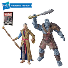 цены Hasbro Marvel Legends 80th Anniversary Avengers 3 Raytheon Movie Grandmaster & Korg Stone Man Warrior 6 inch Action Figures