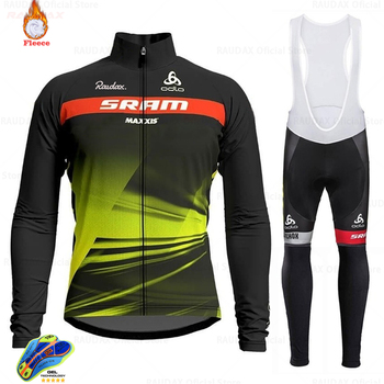 Jersey de Ciclismo Scottes-rc para Hombre, ropa de Ciclismo de lana, pantalones...
