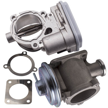 For BMW 1er 3er 5er 7er X3 X5 X6 Diesel E83 E90 E91 Throttle Body 4 Pin + EGR Valve 11717793484, 11717791481 image