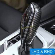 Carbon Fiber Schaltknauf Abdeckung Cap Für BMW X3 X4 G30 G32 G11 G01 G02 LHD RHD 2016 2017 2018 2019 2020