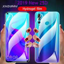 25D Front+back Hydrogel Film for HuaweiNova4 4e Nova3 3i 3e screen protectorfor huawei nova5 5pro nova5i nova2 2s 2plus softfilm(China)