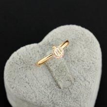 Модное кольцо в форме кошки с тремя зубцами из циркона, медное кольцо на палец, декоративный обруч, женские очаровательные обручальные кольца, подарок для девочек