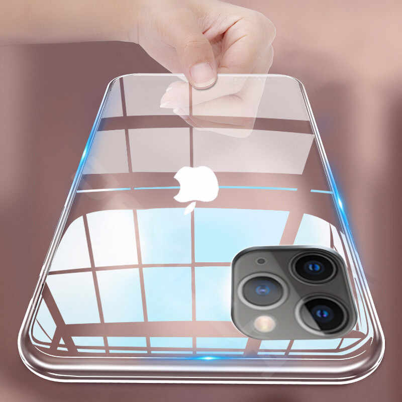 Ultra Thin Clear Silicone Telefoon Case Voor iphone 11 Pro Max Case iphone XR XS Max X 7 8 6 6S Plus Soft TPU Transparant Back Cover