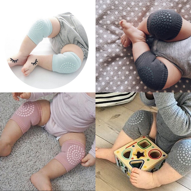0-12 Months Baby Knee Pad For Kids Safety Floor Climb Play Mat Toys Crawling Game Mat For Keep Baby Warmer Protect Knee Tools