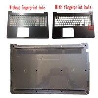 Nieuwe Laptop Shell Voor Dell Vostro 15 5568 V5568 Donkergrijs Palmrest Bovenste Case/Bottom Case Cover 0HJP49 0FCN57 0JD9FG Toetsenbord Vervangende toetsenborden    -