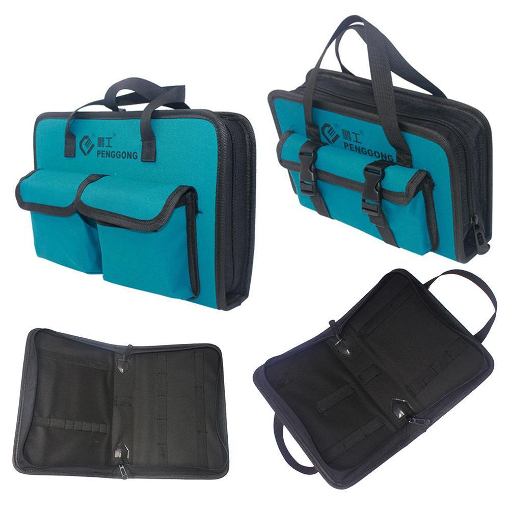 PengGong Waterproof Screwdrivers Pliers Hardware Tool Storage Bag Toolkit Pouch Waterproof Hardware Parts Organizer Pouch