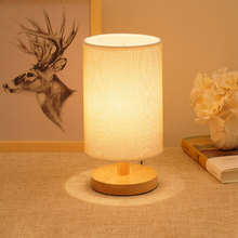Nordic Style LED Night Light Usb Wheat Desk Lamp Warm Light Wood Base Table Light Bedroom Hotel Office Bar Decoration Lighting