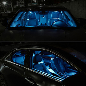 Image 4 - Tpke 8 pces acessórios do carro branco interior lâmpadas led pacote kit para 2005 2015 toyota tacoma mapa dome lâmpada da placa de licença