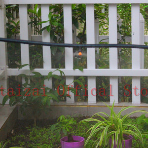 "Image 5 - משלוח מהיר 200PCS אוטומטי השקיה מרסס עם 1/4 ""עקיצה גן מיקרו השקיה ממטרת חממה מסתובב זרבובית"