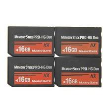 소니 PSP 1000/2000/3000 메모리 카드 8GB 16GB 32GB 메모리 스틱 HG Pro Duo 전체 실제 용량 HX 게임 카드 게임 사전 설치