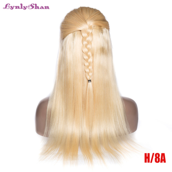 613 blonde lace front wig Straight Human Hair Wigs 13*4 Lace Front Wig Brazilian Remy Hair 150% Density Free Shipping Lynlyshan